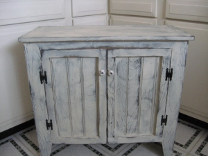 "Cabinet works in any room - we have ours in the bedroom. 31""Hx31""Wx12 1/4""D $167.00"