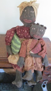 "26"" Hannah and 16"" Henry are both weighted to sit alone.  They both have sculpted fingers and toes.  Lots of detail!  $129.00"